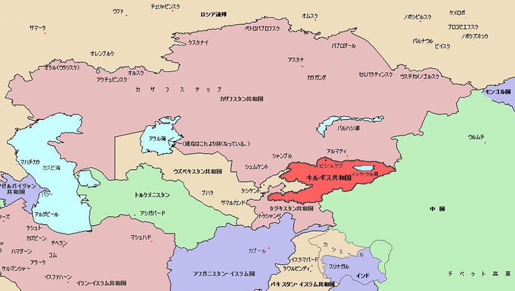 キルギス 人口